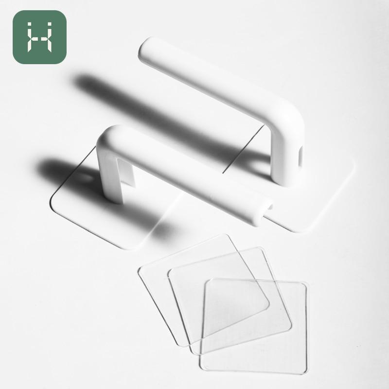 2 pçs/pçs/set ganchos de cozinha gancho de parede ferramentas armazenamento pote capa cortar bloco pendurar titular rack papel higiênico acessórios do banheiro