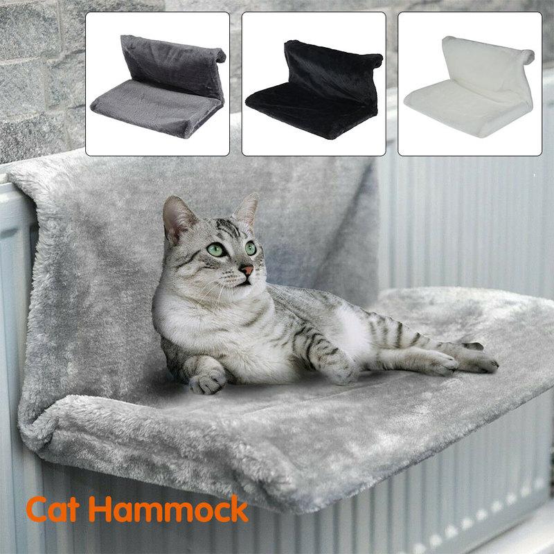 سلة رادياتير للقطط والحيوانات الأليفة ، سلة شتوية من الصوف الدافئ ، إطار معدني وحديد ، سرير نوم للقطط