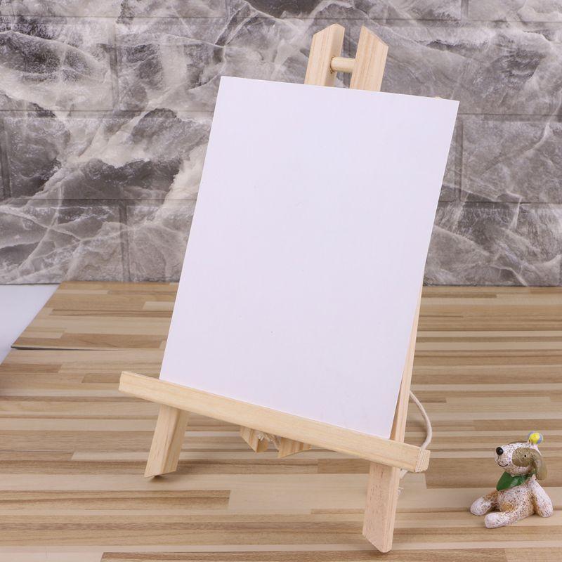 50cm drewniana sztaluga reklama wystawa półka ekspozycyjna uchwyt Studio malowanie drewniana podstawka dostaw sztuki