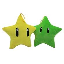 Super jeu Mario Luma étoile en peluche poupée peluche Animal Anime Figure jouet 21 CM