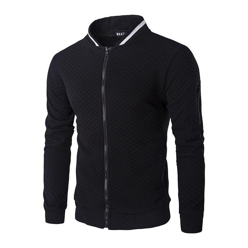 Nueva chaqueta de béisbol para hombre, 2020, diseño a la moda, sólido, ajustada, para hombre, chaqueta universitaria, chaqueta elegante para hombre