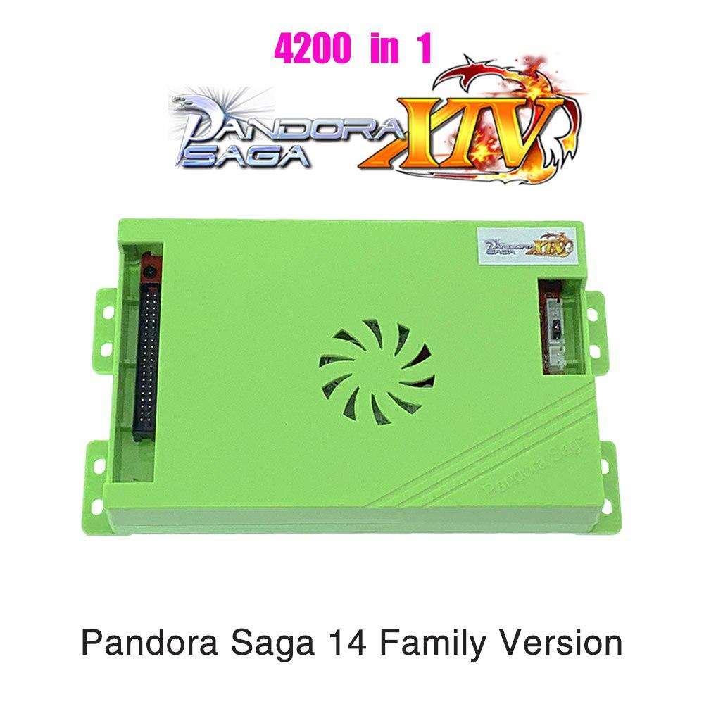 4200 في 1 باندورا ساغا 14 الأسرة نسخة المجلس 40p ممر باندورا بوكس PCB حفظ وظيفة ثلاثية الأبعاد و 4 لاعبين ألعاب عدة مامي PS1 DX