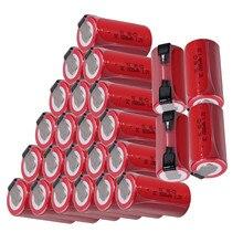 25 pièces SC batterie 1.2v 1500mah nicd outils électriques pour dewalt pour bosch pour hitachi pour metabo