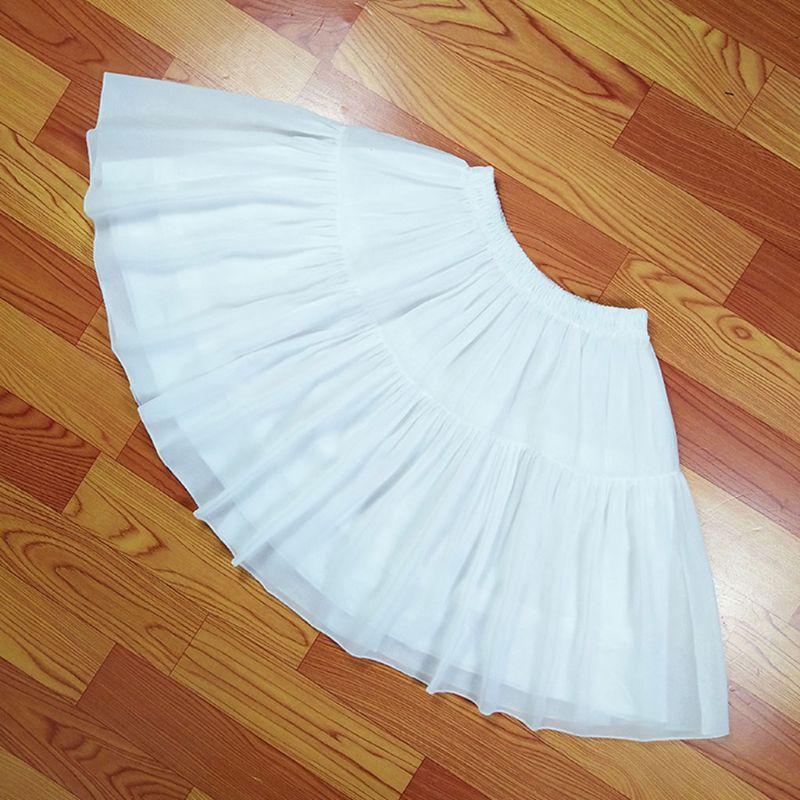 Free shipping Cosplay Fish-bone Short Skirt Lolita Carmen Slip Liner Cute Girls Skirts Adjustable Petticoat