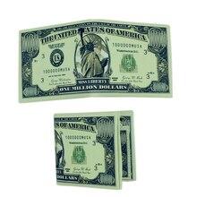 2019 Nieuwe Roman Mannen Vrouwen Pu Leer Papier Dollar Euro Russische Roebel Portemonnee Dunne Mini Purse 2 Fold Student Goedkope gift Coin Bag