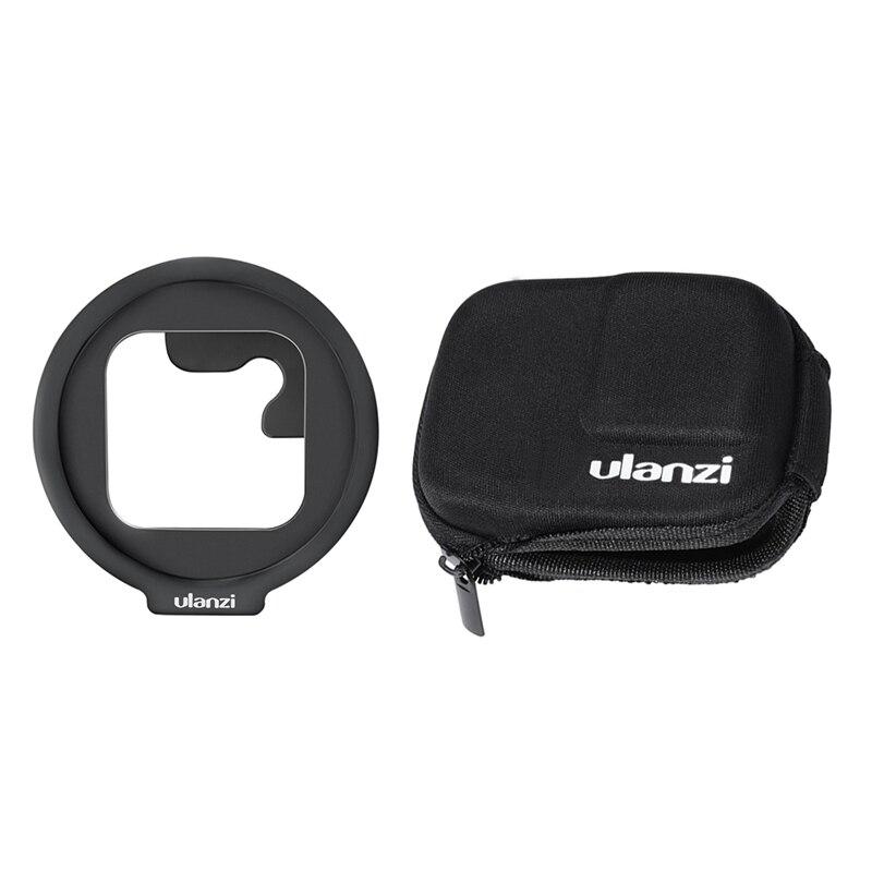 HFES Ulanzi G8-6 52 мм адаптер фильтра для Gopro Hero Black 8 с Ulanzi G8-4 Gopro 8 Портативный чехол для хранения