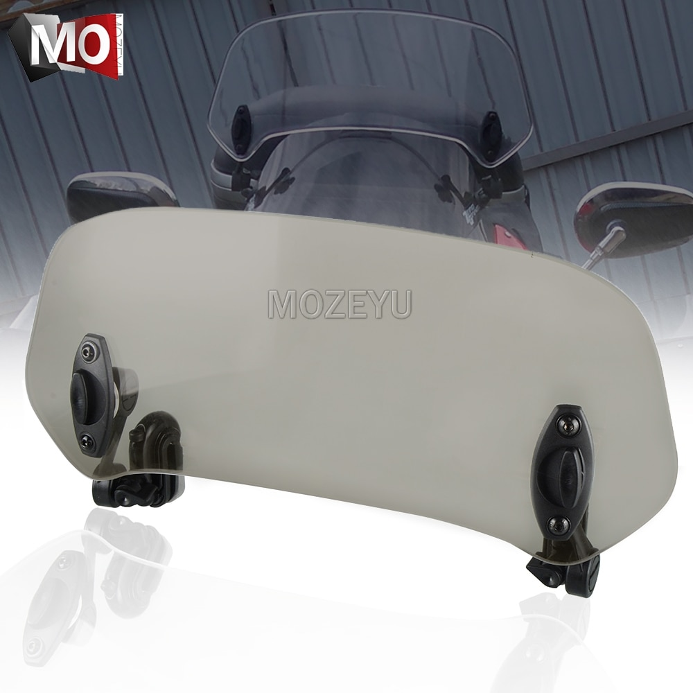 Motorcycle Windshield Extension Spoiler Windscreen Air Deflector For Honda CB500X CB550 CB600 CB599 CB600F Hornet 600 CB500F