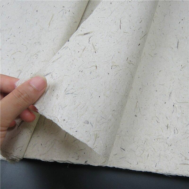 Rijstpapier De riz pour découpage, calligraphie, peinture, Fiber demi-mûre, papier De riz