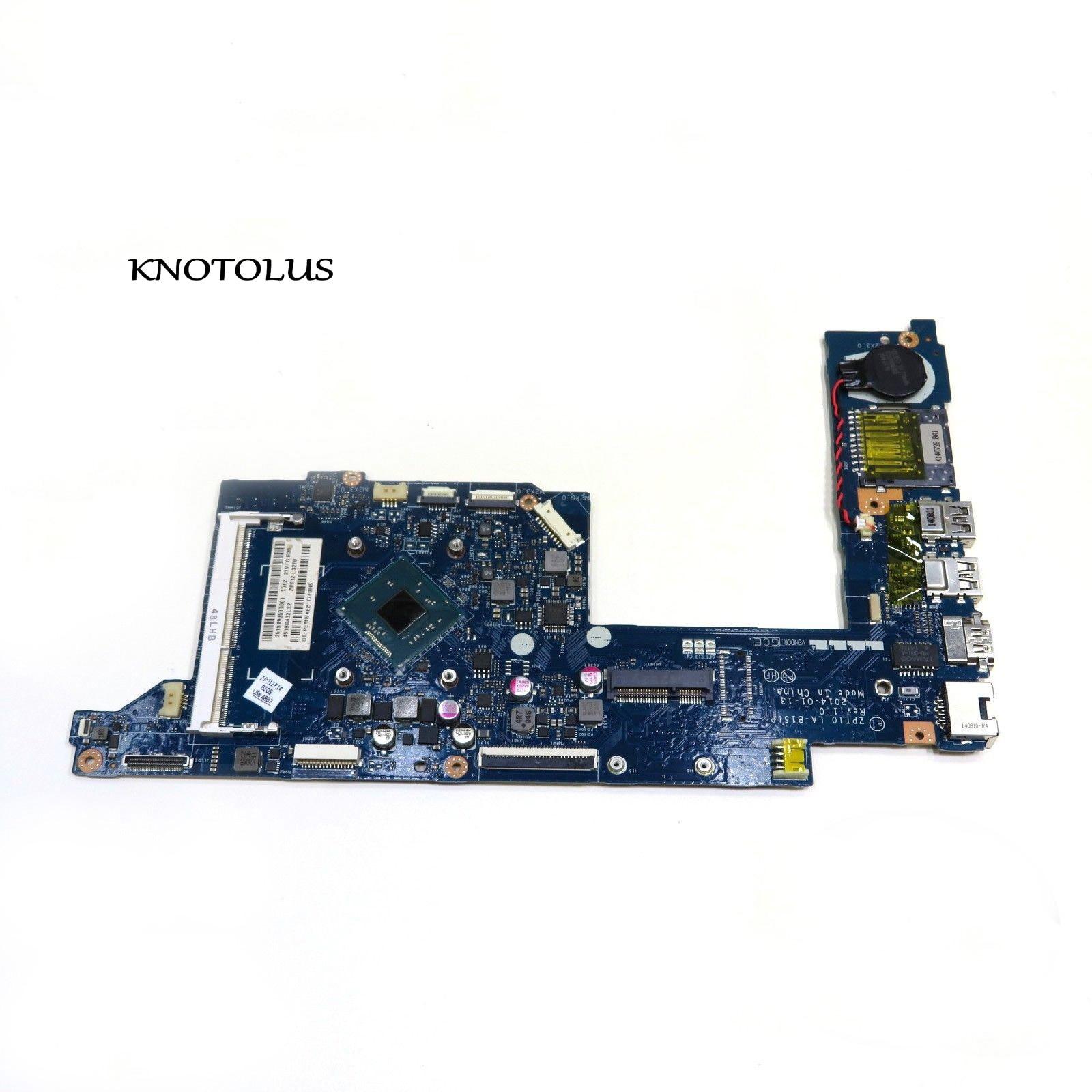 774997-001 774997-501 ZPT10 LA-B151P placa base para portátil HP x360 310 G1 11-N placa base N2830 CPU 100% prueba