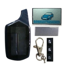 B9 Key Case Keychain Cover +B9 LCD Display flexible Cable Zebra Paper For Car Alarm LCD Remote Contr