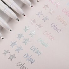 6/12pcs/set 1mm Draw Marker Outliner Gel Pen Journal Pen For Student School Supplies Office Stationery
