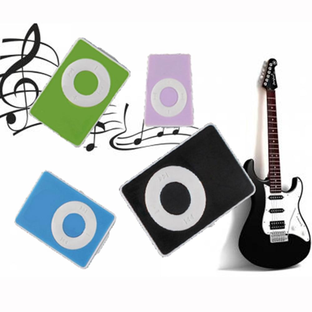Mini Clip USB Digital Mp3 Music Player Support 16GB SD TF Memory Card