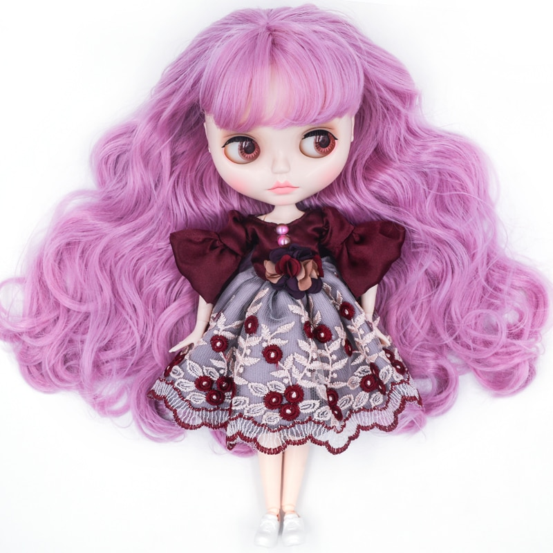 Neo Blyth кукла по индивидуальному заказу NBL блестящее лицо, 1/6 OB24 BJD шариковая шарнирная кукла на заказ Blyth куклы для девочки, подарок для коллекции NBL01