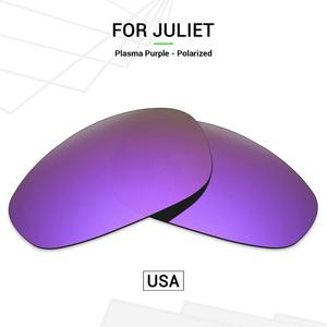 Mryok POLARIZED Replacement Lenses (from USA) for Oakley Juliet X-Metal Sunglasses Plasma Purple