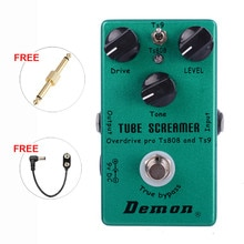 TS9 und TS808 Zwei Modi Rohr Screamer 2 in 1 Overdrive Gitarre Effekt Pedal Overdrive
