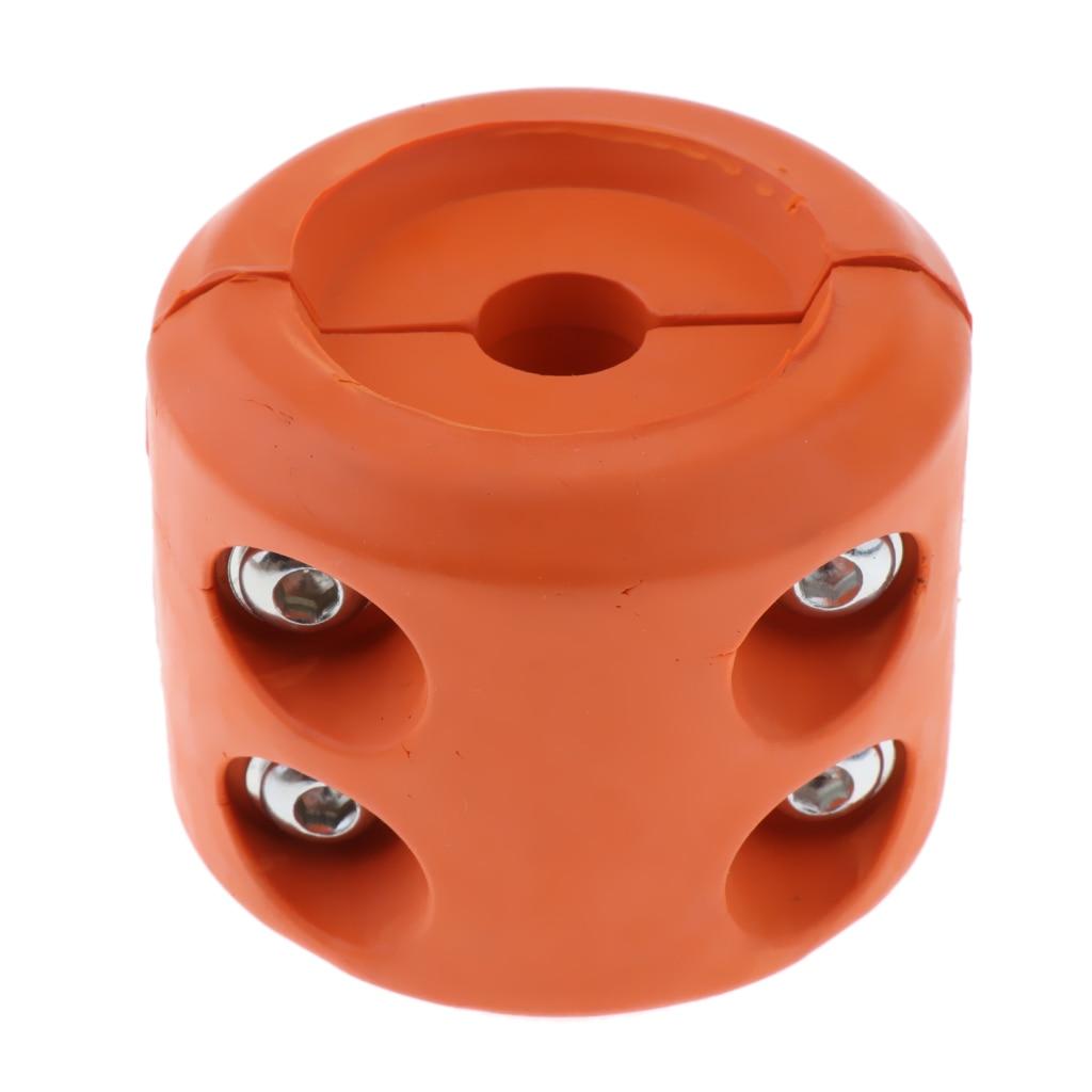2 piezas de cabrestante Protector de Cable gancho Tapón Protector de línea de alambre Protector de clavija cubierta de goma para cabrestante UTV