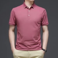 summer mens clothing mens polo shirts business casual polo shirts short sleeved plus size polo shirts