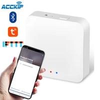 ACCKIP Tuya maison intelligente Zigbee passerelle Hub telecommande Zigbee appareils Via lapplication vie intelligente fonctionne avec Alexa Google Home