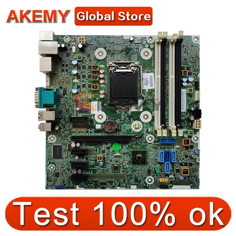 لوحة أم Akemy للكمبيوتر المكتبي HP 600 G1 SFF لوحة أم LAG1150 795972-001 795972-501 795972-601 696549-003 لوحة أم تم اختبارها بسرعة الشحن 100%
