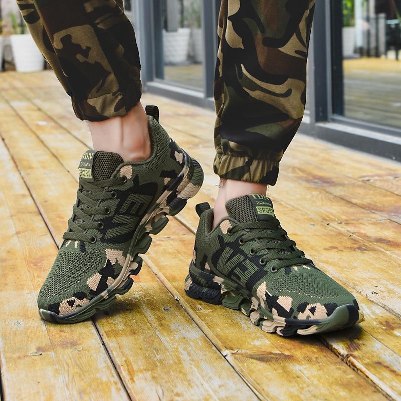 Камуфляжные кроссовки, мужская Военная обувь, женская спортивная обувь, теннисная обувь, Армейская Обувь, Треккинговая обувь, парная улична...