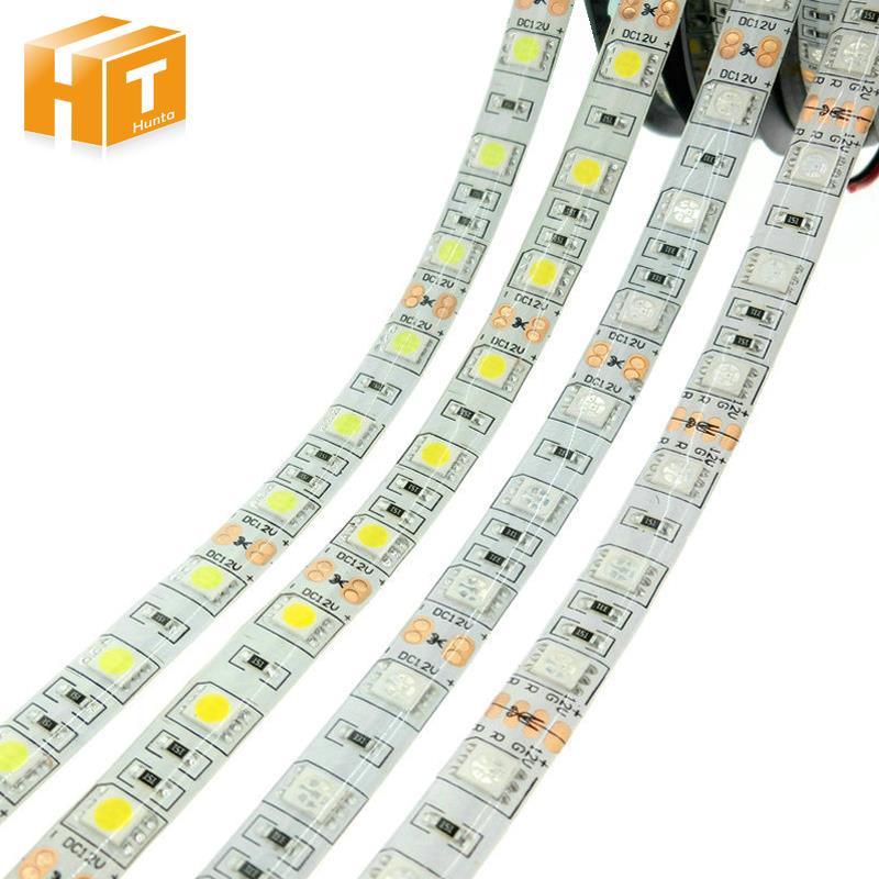 LED Strip 5050 DC12V 60LEDs/m Flexible Light RGB RGBW 300LEDs 5m/lot