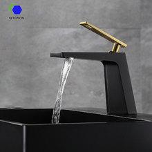 QCFOISON toilette luxe noir carré relevable cascade bassin robinet salle de bain déco wc mitigeur deau cuissine