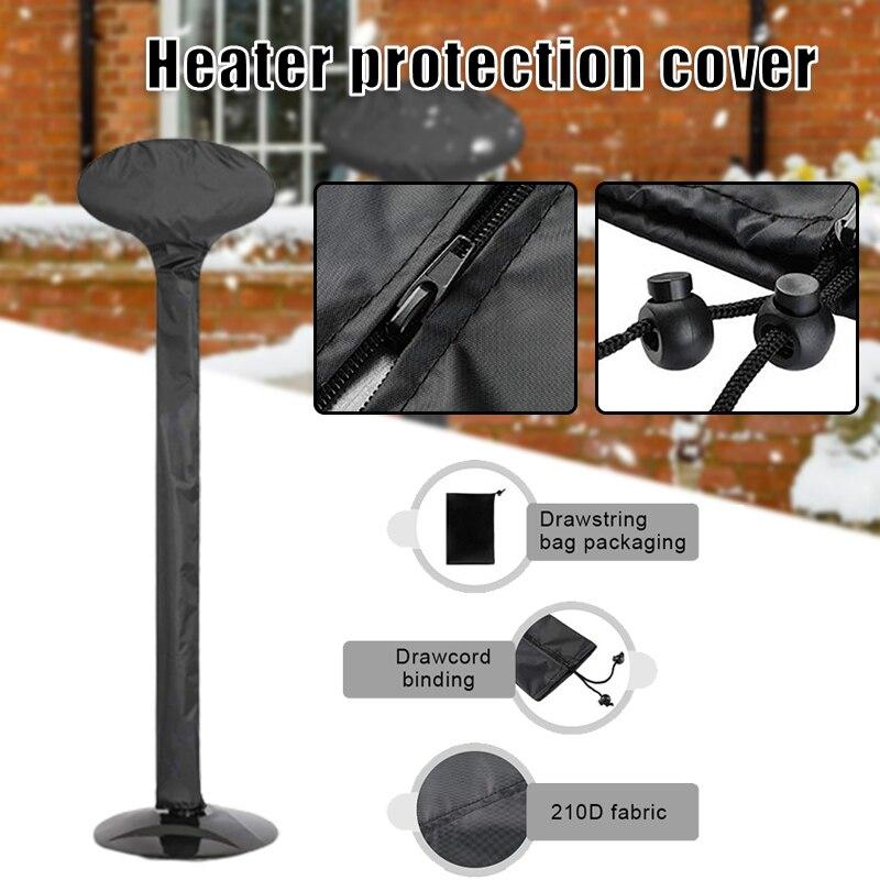 Al aire libre De tapa con cremallera De cobertura completa calentador protector impermeable para el pie De Muebles De Jardín
