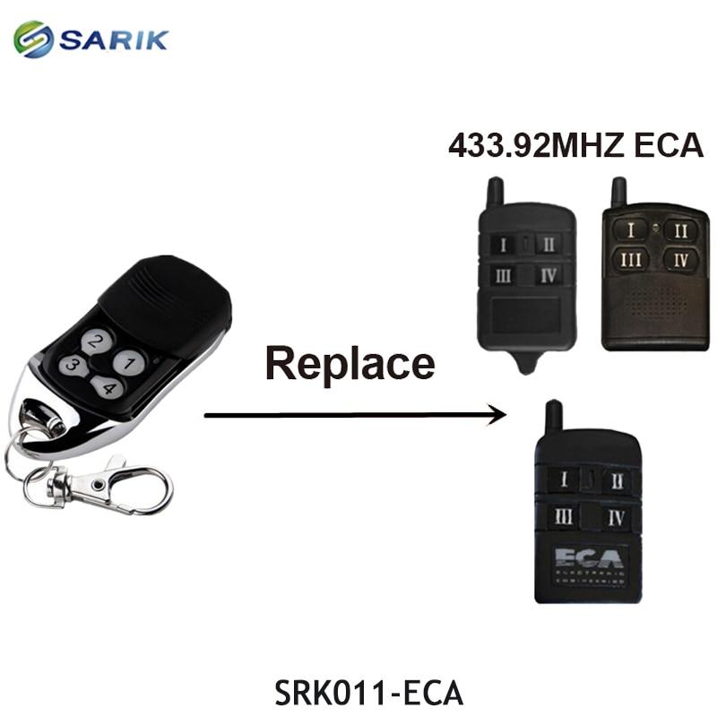 ECA ворота гаражные двери 433 МГц пульт дистанционного управления 4 кнопки прокатки