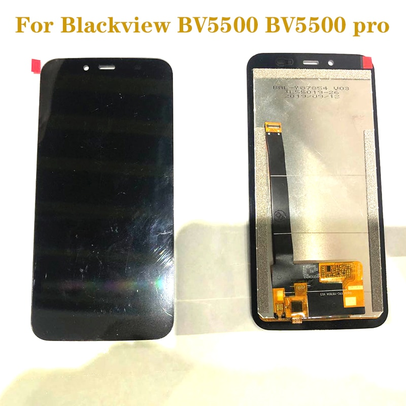 AliExpress - original display For Blackview BV5500 BV5500 PRO LCD + touch screen digitizer replacement for BV 5500 pro display repair parts