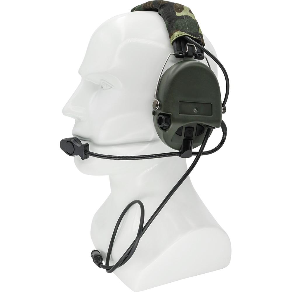Tactical air gun SORDIN noise reduction pickups tactical hunting hearing protection shooting headphones sordin headphones enlarge