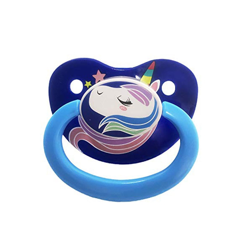 TEN@NIGHT ABDL Adult Baby Pacifier Dummy Dom Christmas Silicone Nipple Teat DDLG Cute Printing Animal