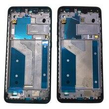 ZUCZUG nowa metalowa rama środkowa do telefonu Nokia 7.2 Средняя рамка obudowa płyty Bezel obudowa uchwyt płyty tylnej z bocznymi kluczami