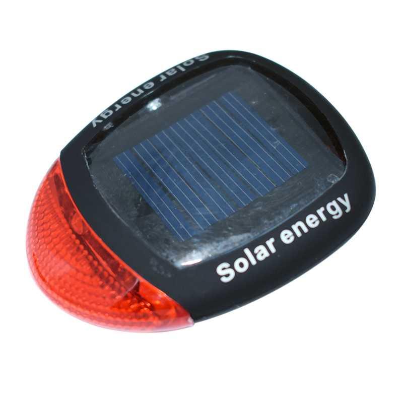 Wasafire, nueva energía Solar, luz trasera para bicicleta, luces traseras Rojas, luces traseras Lámpara de advertencia de ciclismo bicicleta de montaña