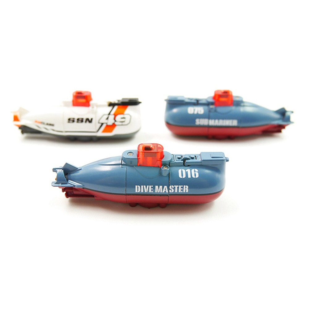 Mini RC Submarine Electric Speed Boat Toy Dive Master Model for Children Remote Control Pigboat Simulation Model Gift Toy Kids enlarge