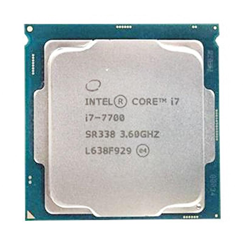 Intel Core i7-7700 Quad-Core 4 Core 8 threads cpu 3.6 GHz 8-Draad LGA 1151 65 W 14nm i7 7700 processor