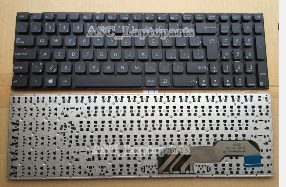 Новый Чешский Словацкий клавиатура для ASUS X541N X541NA X541NC X541S X541SA X541SC черный, без рамки