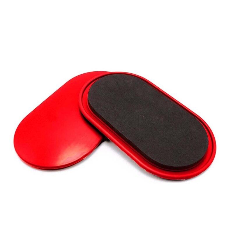 XSXS--1 par de discos de deslizamiento de Fitness deslizador de núcleo con cubiertas de entrenamiento de cuerpo entero de la coordinación de entrenamiento en casa gimnasio equipo de ejercicio