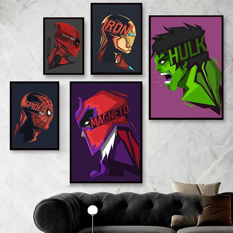 pintura-en-lienzo-de-los-vengadores-de-marvel-para-decoracion-del-hogar-posteres-de-superheroes-hulk-spiderman-arte-de-pared-dibujos-animados