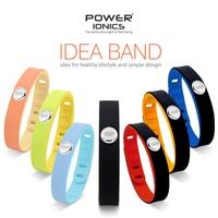Power Ionics 3000ions Sports Waterproof Titanium Bracelet Wristband Improve Balance Sleeping Slimming