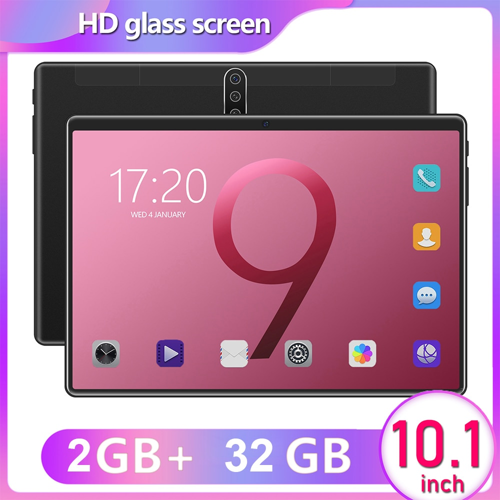10.1 Inch Android 8.0 Tablet PC MTK6797 Ten Core 1.06GHz CPU 2GB RAM 32GROM 1920x1080IPS Display 8800mAh Battery Capacity Tablet