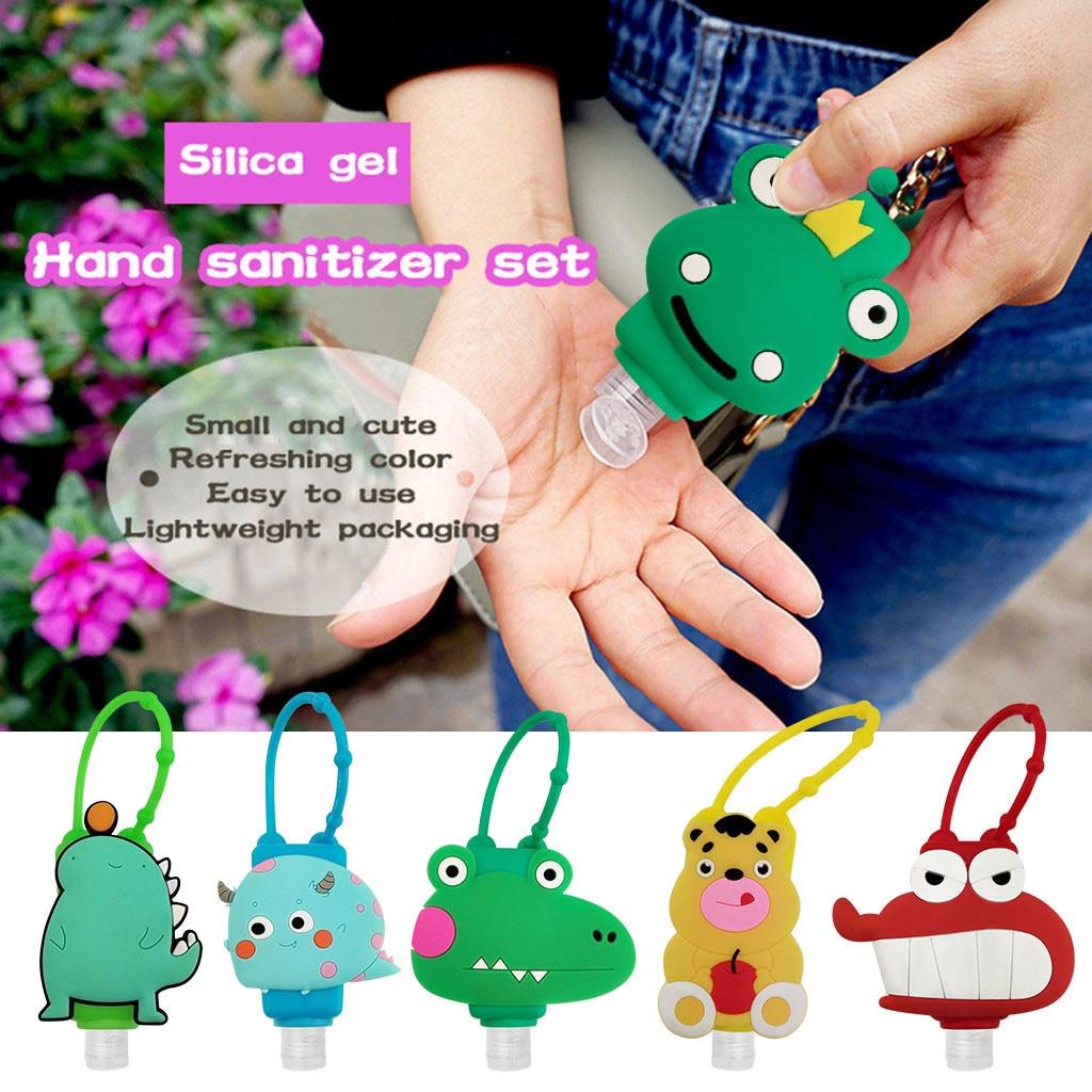 Gel Desinfectante 1/3 Pcs Hand Sanitizer Dispensing Kid Cartoon Cute Portable Hang Dispenser Gel hydroalcoholic Sanitizer 30ML