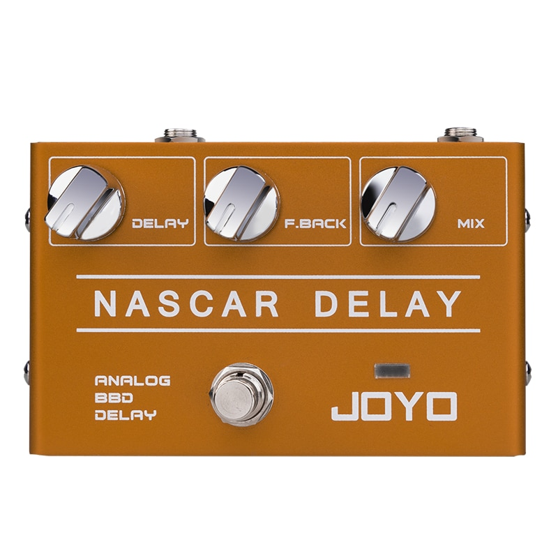 Nascar Delay Mini Effects Delay Electric Guitar Effects Bbd Chip Is Suitable For Solo Guitar Effects JOYO R10 enlarge