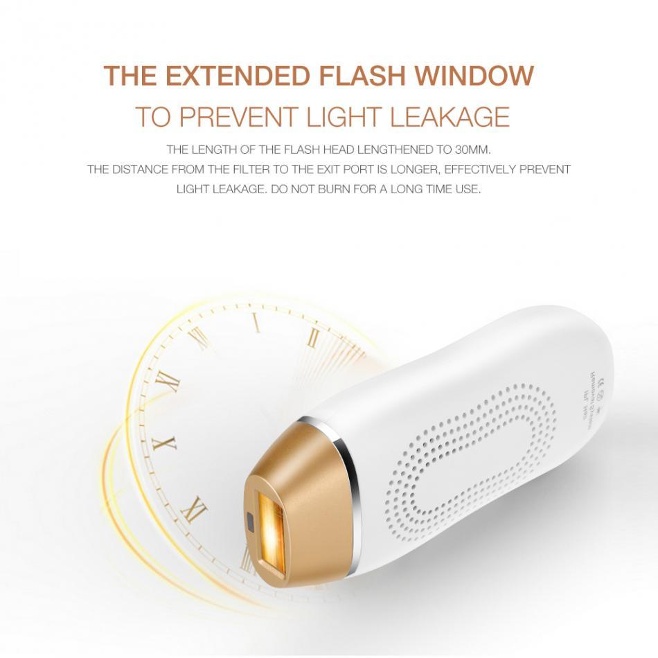 110-240V Depilator Laser Hair Removal Women Epilator 400000 Flash Light Permanent Face Skin Bikini Depiladora Photoepilator enlarge