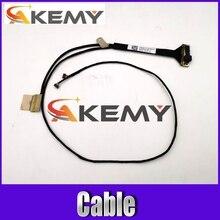Akemy nuevo para Asus Vivobook U303L UX303L UX303LB UX303LA UX303LN UX303LN-8A LVDS LCD Cable DC02C00AG0S 30Pin pantalla táctil