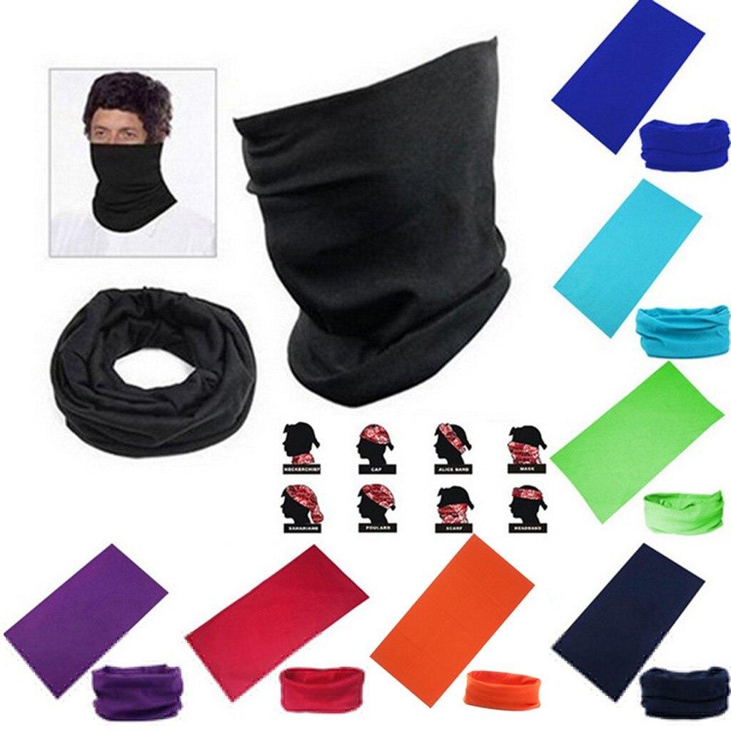Unissex ao ar livre sem costura balaclava magia cachecol masculino feminino proteção solar bandanas pescoço polainas ciclismo caminhadas cachecol headwear