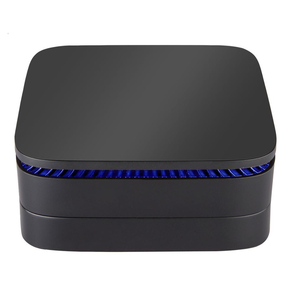 AK1 Win10 MINI PC Intel Celeron J3455 4G/32G Bluetooth4.0 5,8G WIFI 4K HD 2,0 set top TV Box PK Android TV box