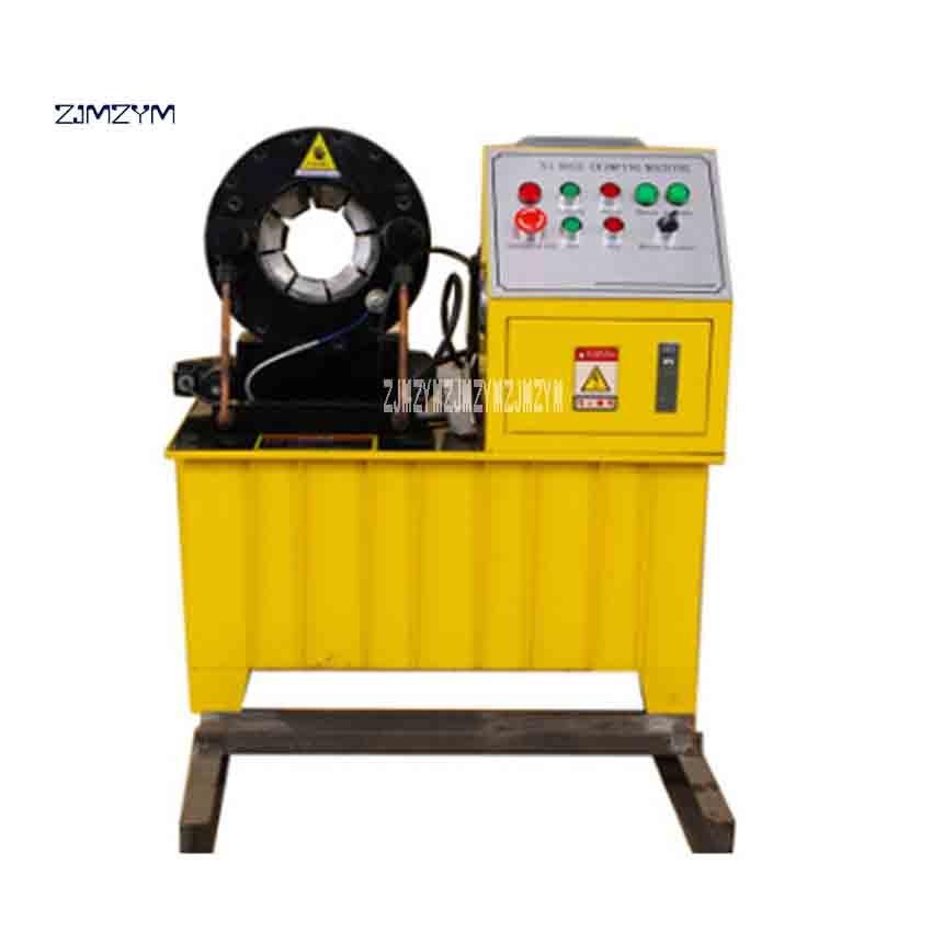 جديد وصول PSF-51 عالية-جودة الهيدروليكية ماكينة تجعيد الخراطيم 220V / 380V 2.2KW / 3KW القطر 6 مللي متر-51 مللي متر 31.5MPA 449T 0.02 مللي متر