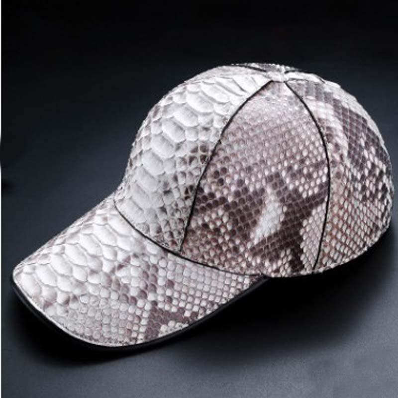 LINSHE Python skin    With the money  hat  Men and women  Baseball cap  Popular logo  Sun hat  joker  Prevent bask in  men  cap