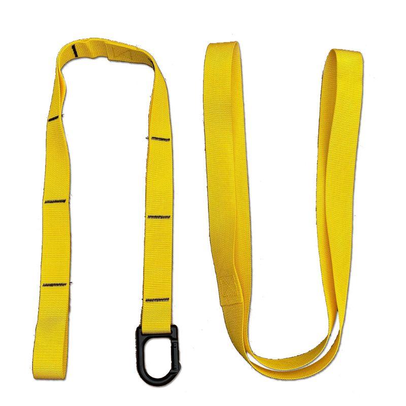 Envío Gratis, deporte en casa, Yoga, correa elástica, banda de extensión de estiramiento de cinturón auxiliar de Fitness K4UC