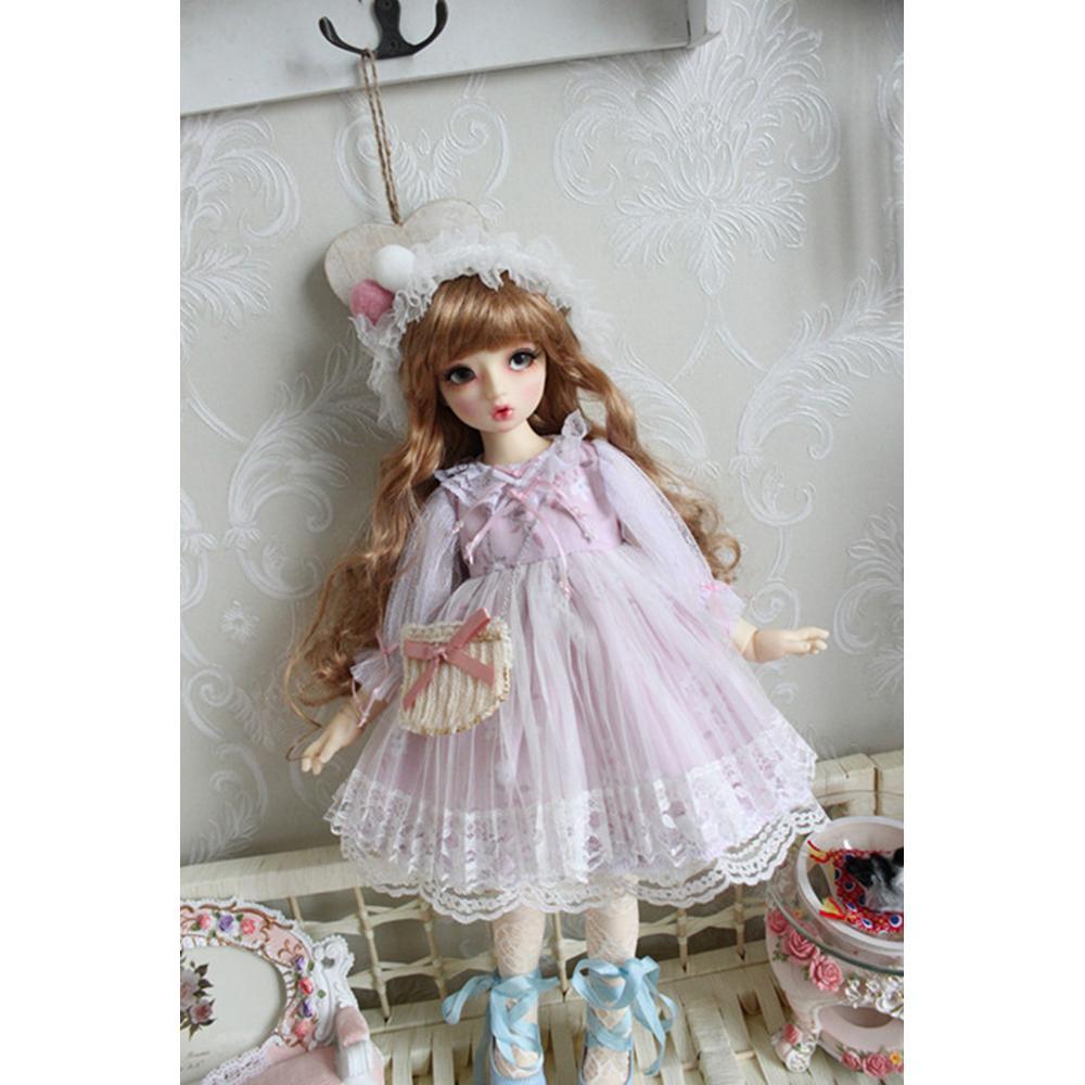[Wamami] ropa Lolita, vestido, falda para 1/6 1/4 MSD YOSD muñeca BJD, ropa para muñecas